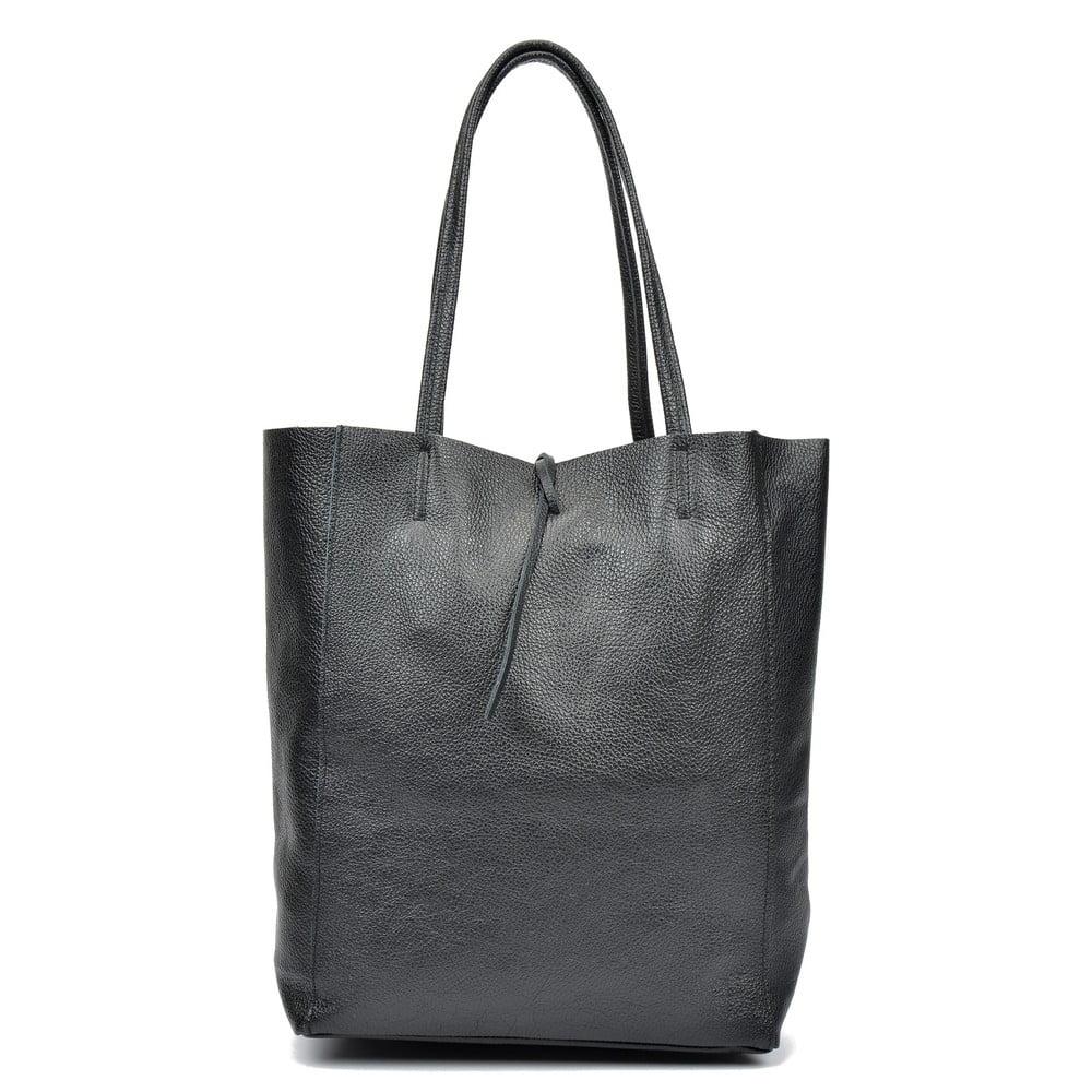 Černá kožená taška přes rameno Sofia Cardoni Easy