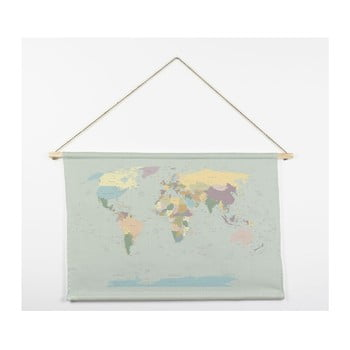Tapiserie Really Nice Things Worldmap, 60 x 90 cm de la Really Nice Things