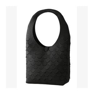 Plstěná kabelka, černá