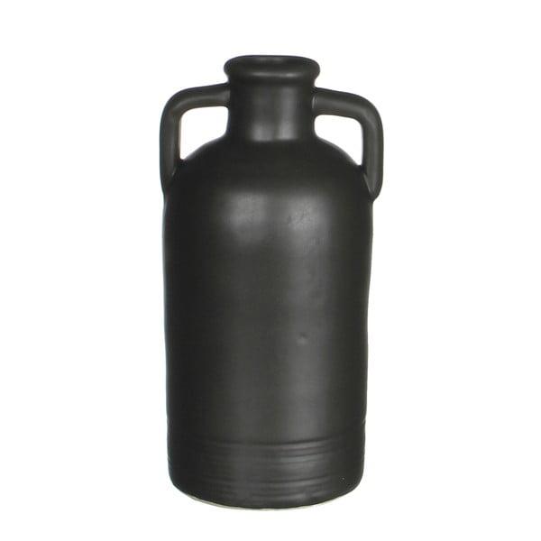 Keramická váza Sil Black, 11x20 cm