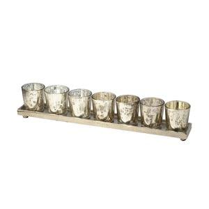 Sada svícnů na stojánku Tray, 42 cm