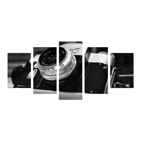 Vícedílný obraz Black&White Camera
