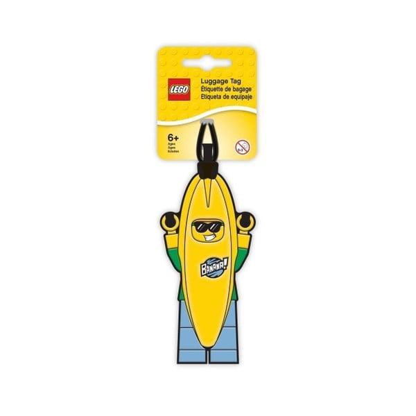 Etichetă pentru bagaje LEGO® Banana Guy
