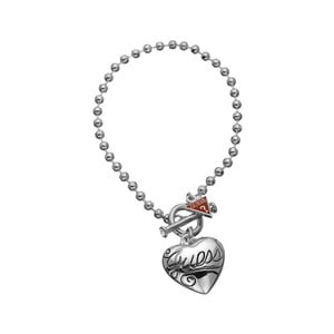 Náramek Guess Sweet Silver Heart