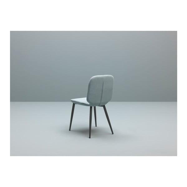 Sada 4 mentolově modrých jídelních židlí Design Twist Tabou