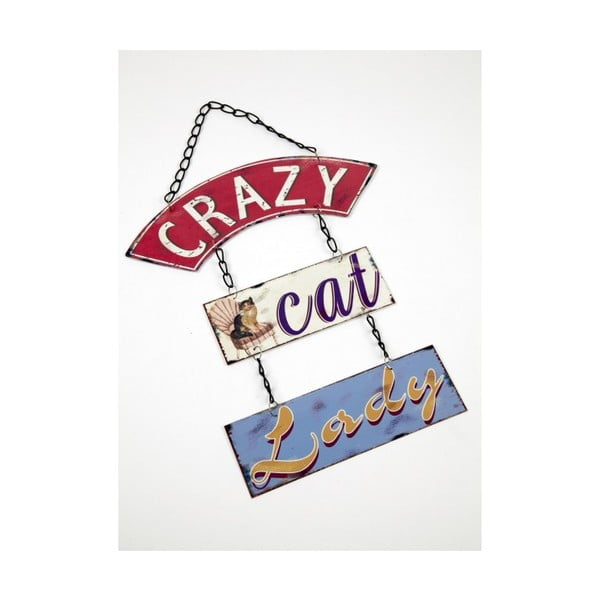 Vintage cedule Crazy Cat