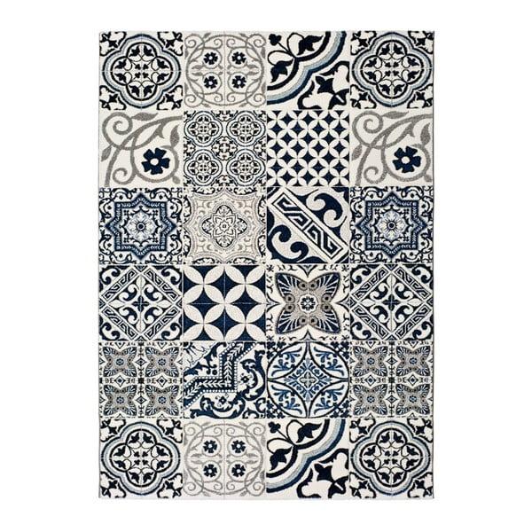 Indigo Azul Mecho kék szőnyeg, 60x120cm - Universal