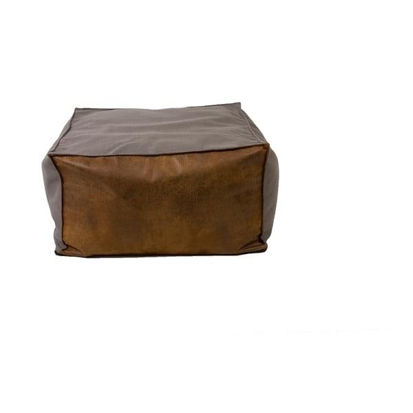Puf Gie El Home Leather-Like, šedý