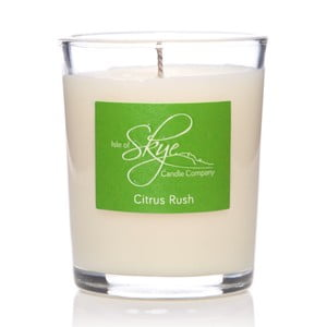 Lumânare cu aromă de citrice Skye Candles Container, timp de ardere 12 ore