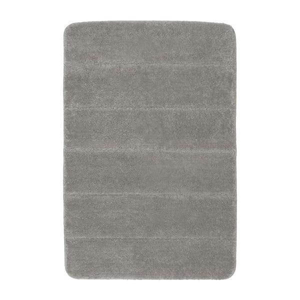 Světle šedá koupelnová předložka Wenko Steps, 60x90cm