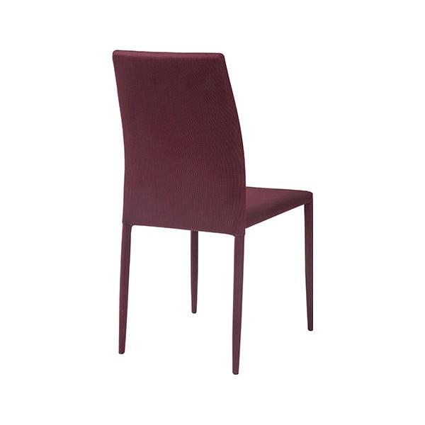 Jídelní židle Dani, rubínová