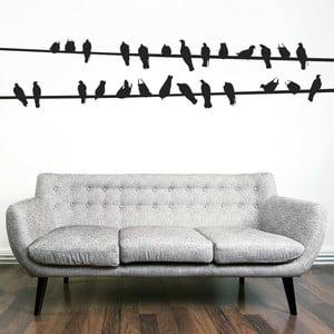 Samolepka na stěnu Ptáci, 90x120 cm