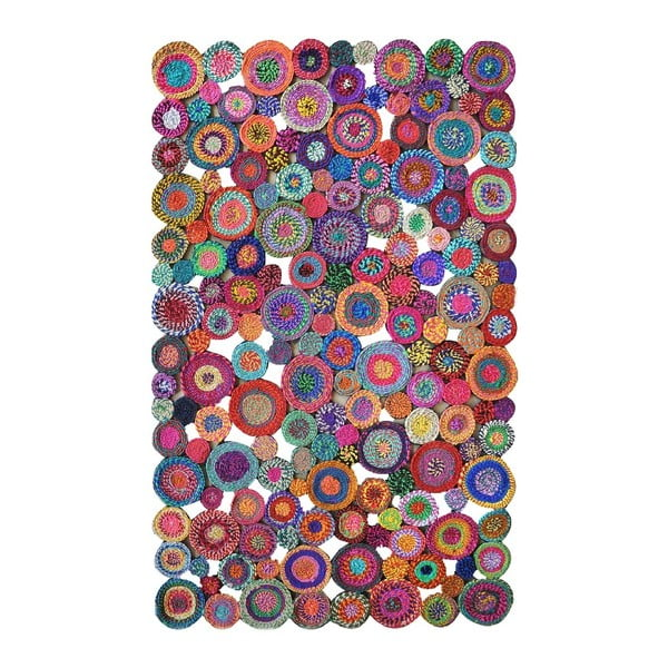 Covor din bumbac Eco Rugs Whimsical, 80x150cm