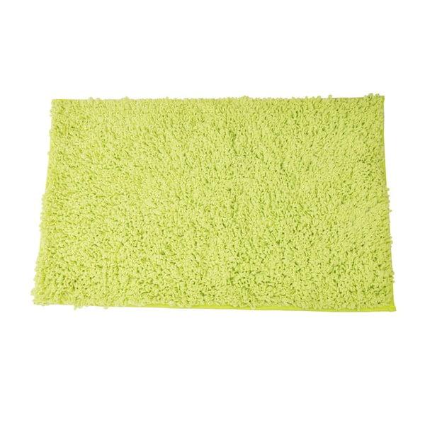 Koupelnová předložka Caniche Lime, 80x50 cm