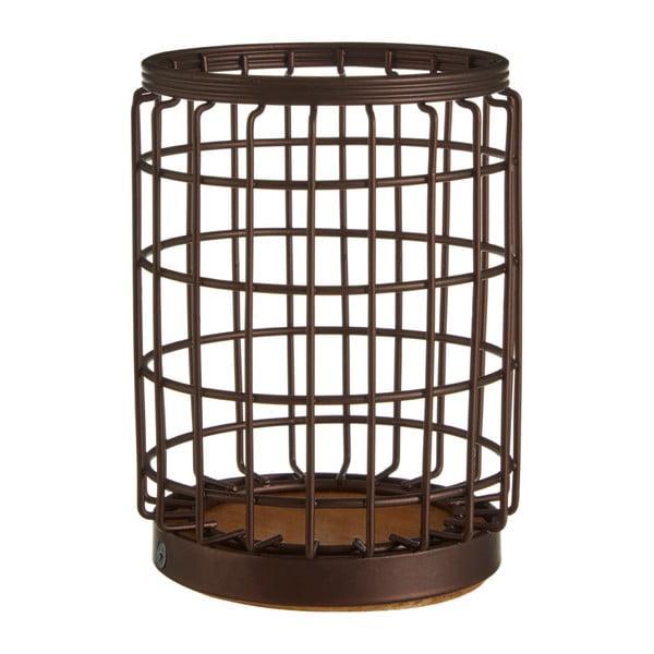 Koszyk żelazny w kolorze brązu na przybory kuchenne Premier Housewares, Ø 12x17 cm