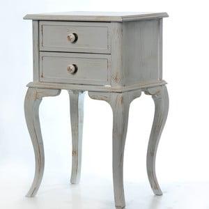 Odkládací stolek Rustik Patine, 45x33x70 cm
