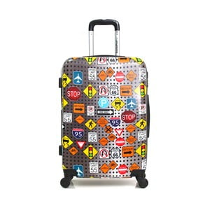 Sada 3 barevných cestovních kufrů na kolečkách American Travel