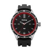 Pánské hodinky Firetrap Gents Black Silicon Strap/Brushed Dial, 45 mm