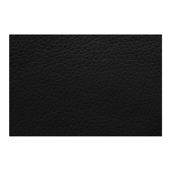 Černá rozkládací pohovka Florenzzi Bossi, levýroh