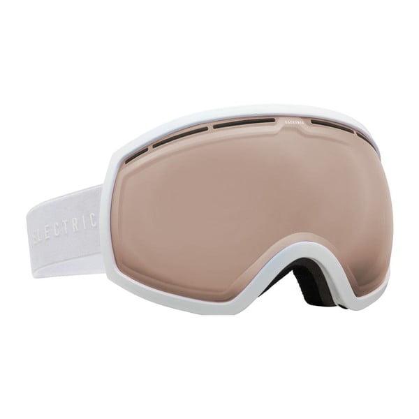 Pánské lyžařské brýle Electric EG2 Gloss White - Bronze, vel. L
