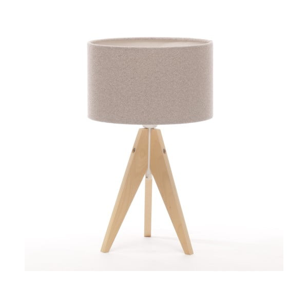 Stolní lampa Arist Cylinder Brown Grey/Natural