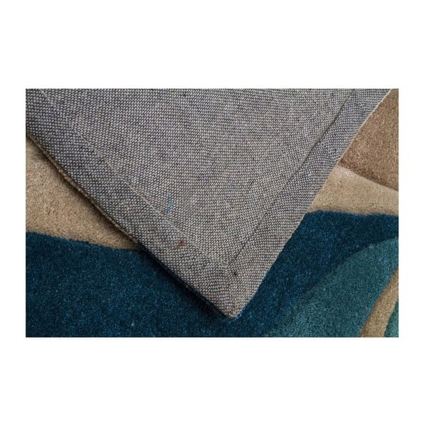 Koberec Flair Rugs Splinter Teal,  160 x 220 cm