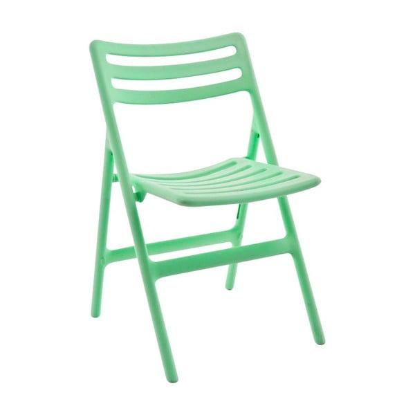 Zelená skládací židle Magis Air