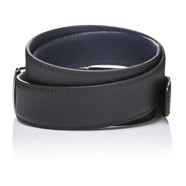 Kožený pásek Black Blue, 125 cm