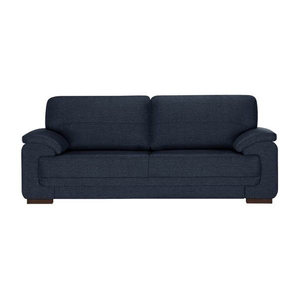 Granatowa sofa 3-osobowa Florenzzi Casavola