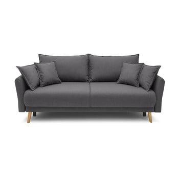 Canapea extensibilă Bobochic Paris Mia, gri închis imagine