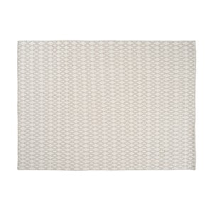 Vlněný koberec Elliot White, 140x200 cm