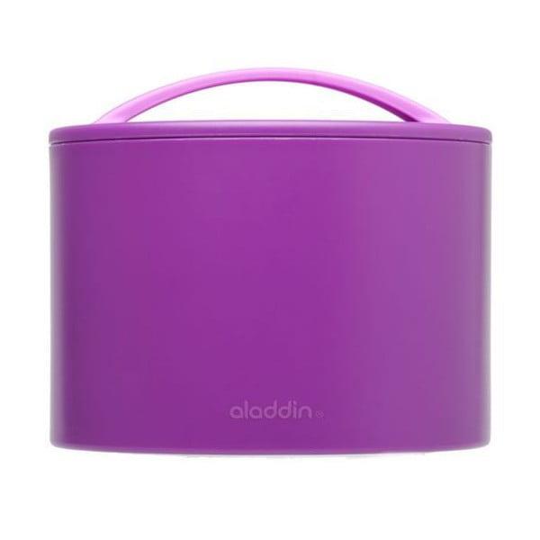 Termobox na svačinu Bento 600 ml, fialový