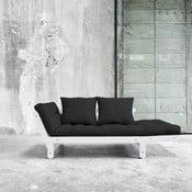 Canapea extensibilă Karup Beat White/Gray