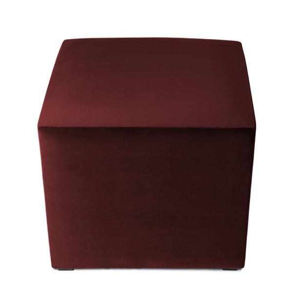 Burgundově červený puf Vivonita Julia