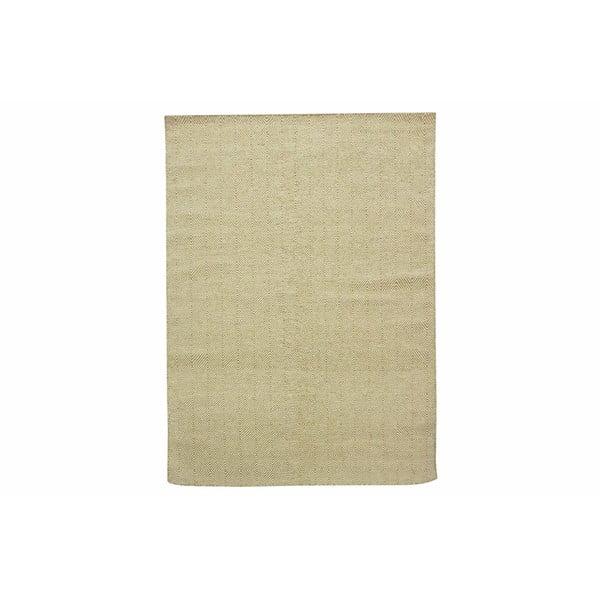 Vlněný koberec Kilim Dimond Olive, 160x230 cm