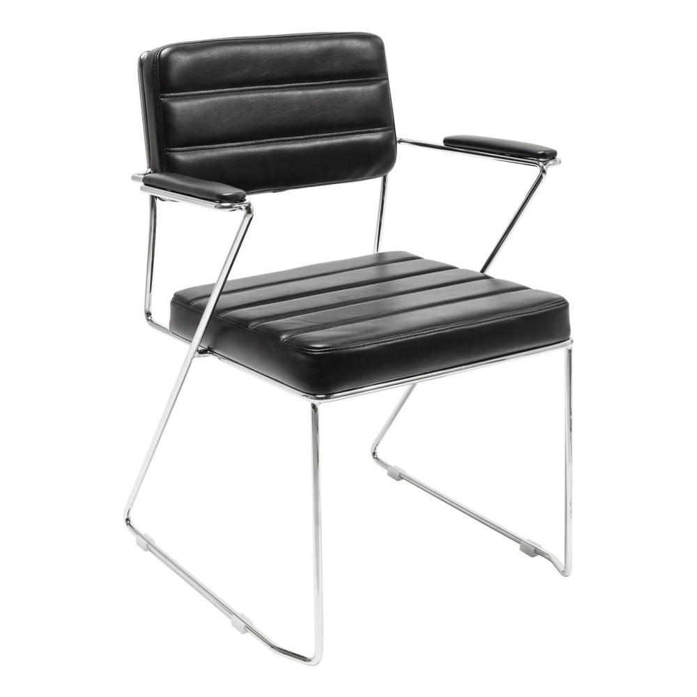 Černá židle Kare Design Dottore Black