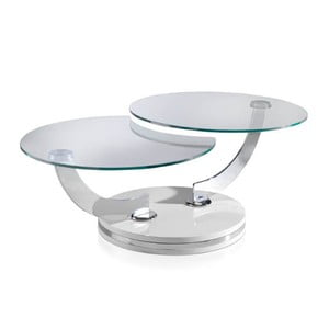 Skládací konferenční stolek s konstrukcí v bílé barvě Ángel Cerdá Evita