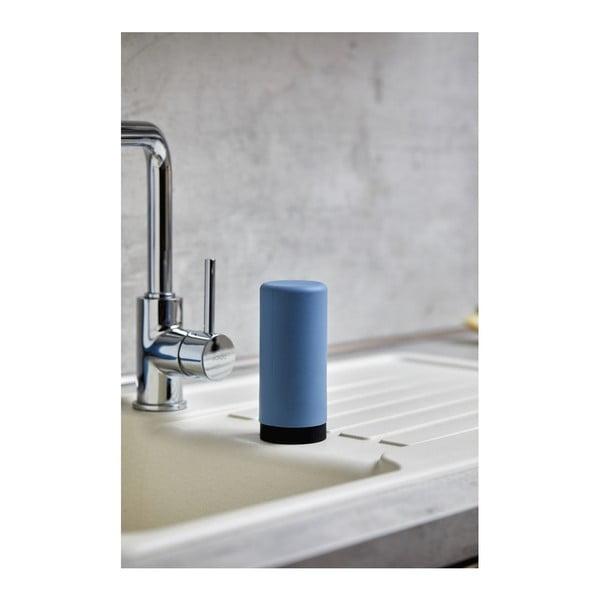 Dozator din silicon pentru săpun lichid Wenko Easy Squeez-e, albastru