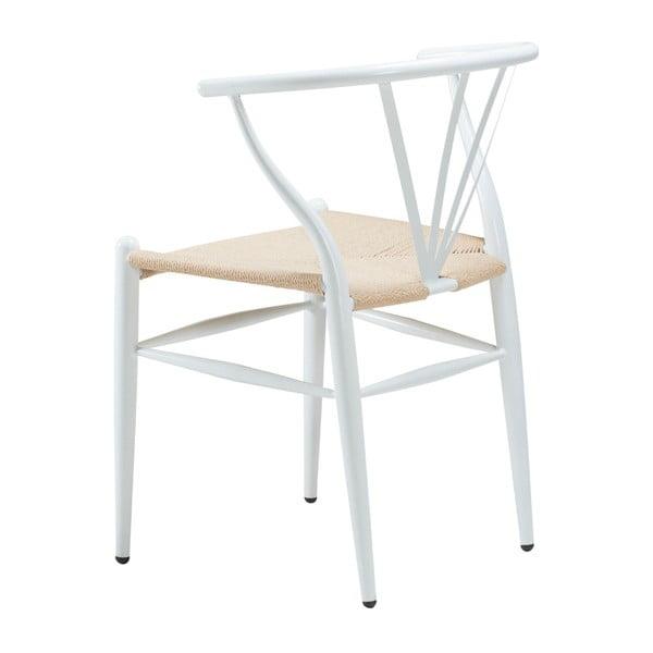 Bílá židle DAN-FORM Denmark Delta