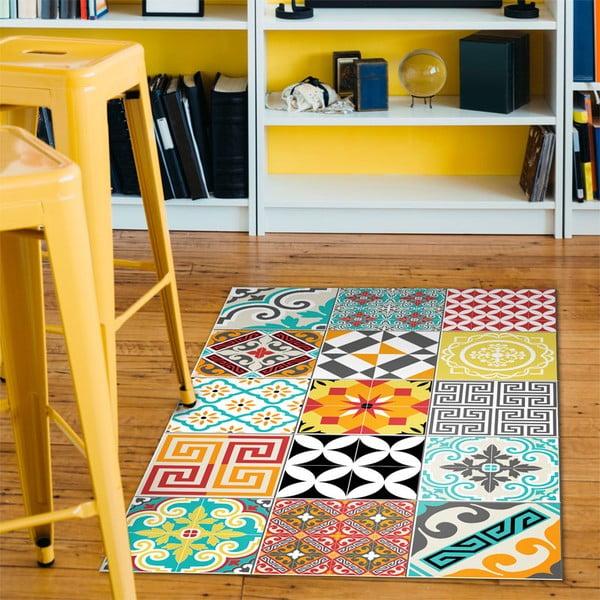 Wytrzymały winylowy dywan Ambiance Bright Tile, 60x100 cm