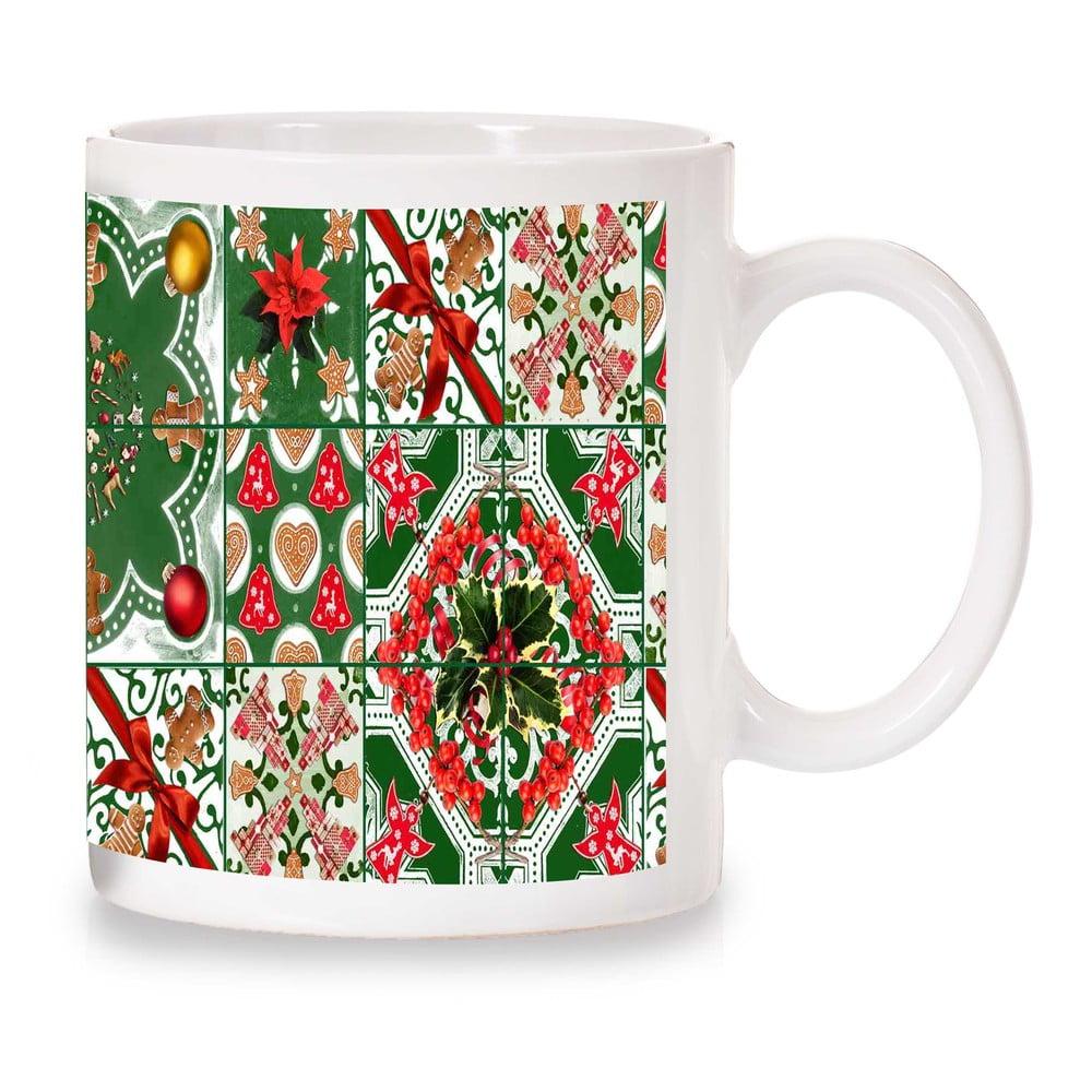 Hrnek Crido Consulting Christmas Mosaic, 300ml Crido Consulting