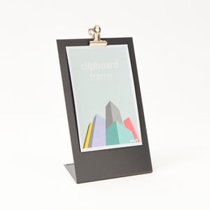 Šedý rámeček na fotku Clipboard Medium