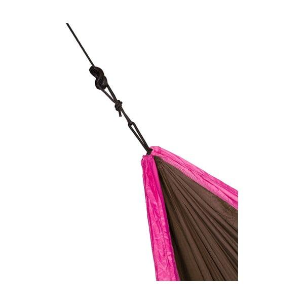 Cestovní závěsný vak pro dva Colibri, černý/růžový