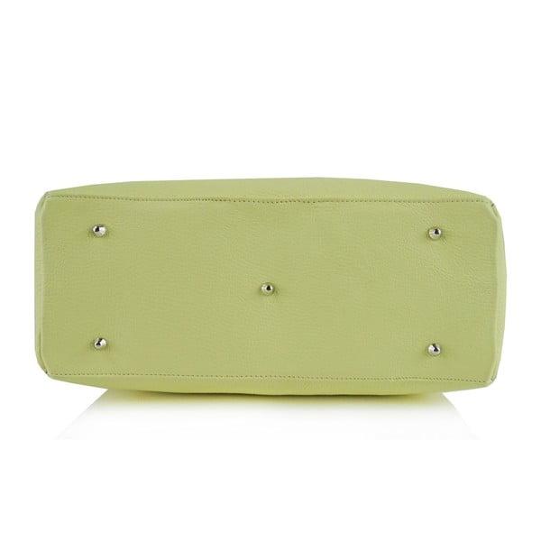 Kožená kabelka Boscollo Green 3365