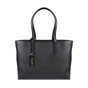 Černá kožená kabelka Maison Bag Lena