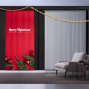 Vánoční závěs Christmas, 140 x 260 cm