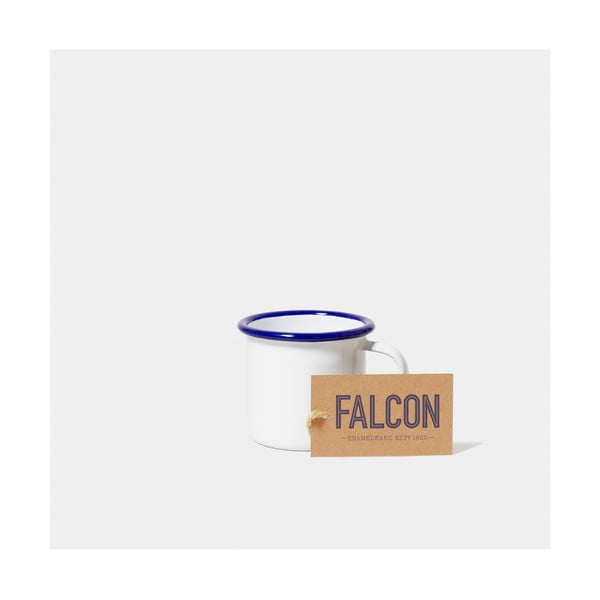 Bílý smaltovaný šálek na espresso Falcon Enamelware, 160 ml