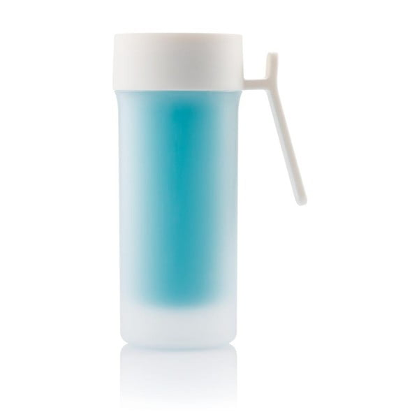 Niebieski kubek termiczny XD Design Pop,275ml