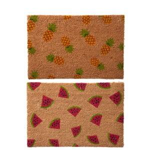 Set 2 preșuri J-Line Fruit, 60 x 40 cm