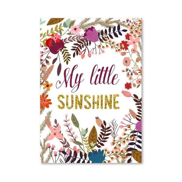 Plakát od Mia Charro - My Little Sunshine